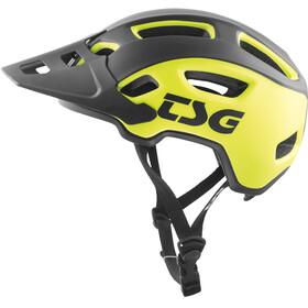 TSG Trailfox Graphic Design Helmet sides acid yellow-black